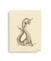 Dear Dino plakat - 30x40 cm