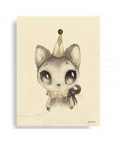 Dear Meow plakat - 50x70 cm