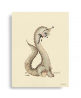 Dear Dino plakat - 50x70 cm