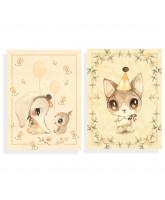 2 pak Ellie & Meow kort