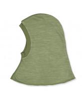 Grøn uld/bambus elefanthue