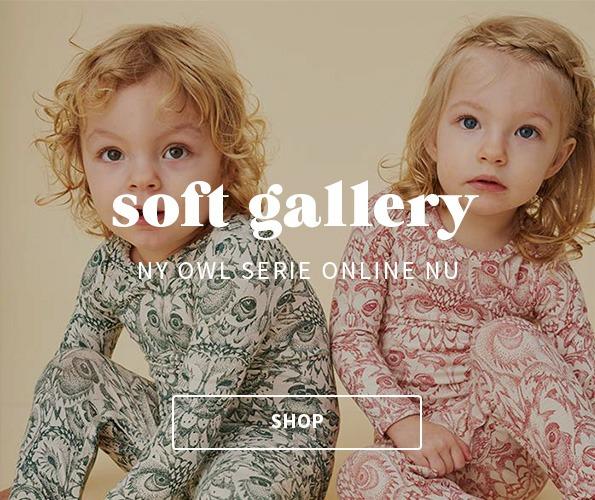 Soft Gallery Golden Owl ugleserie 40% rabat