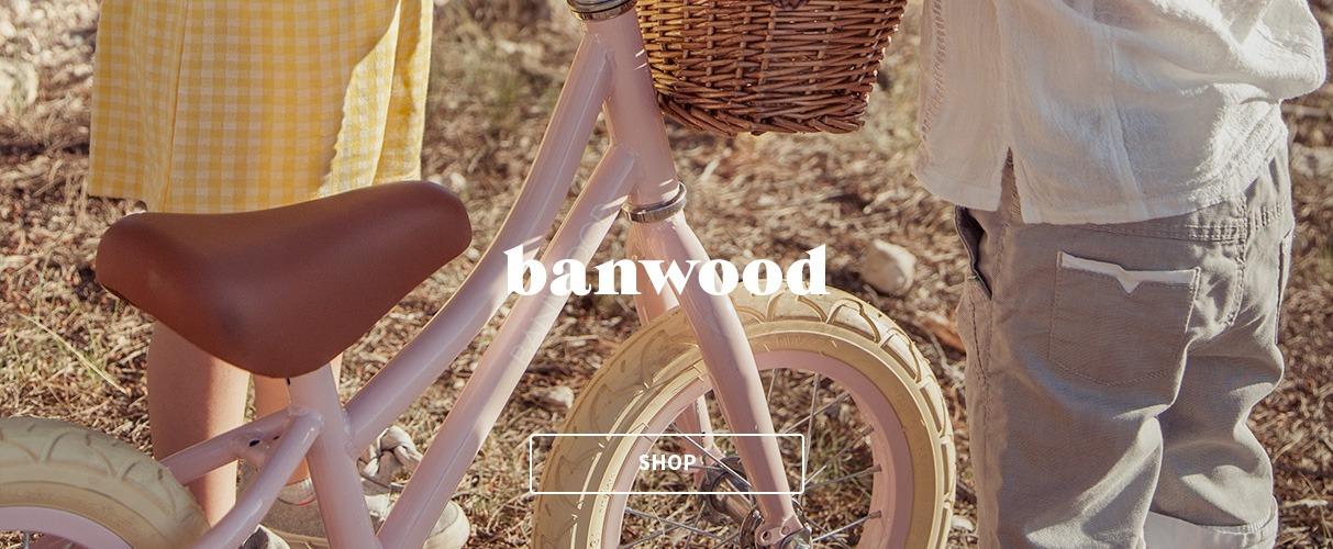 banwood retro løbecykler